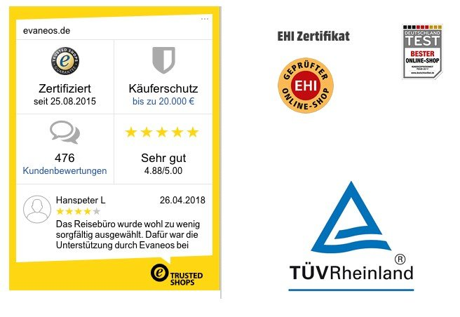 A non-exhaustive list of review, labels and certification badges.