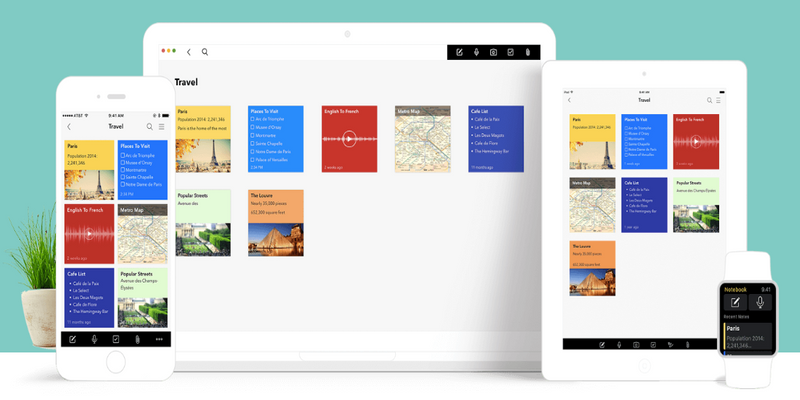 With Notebook, Zoho is taking on incumbents Evernote and