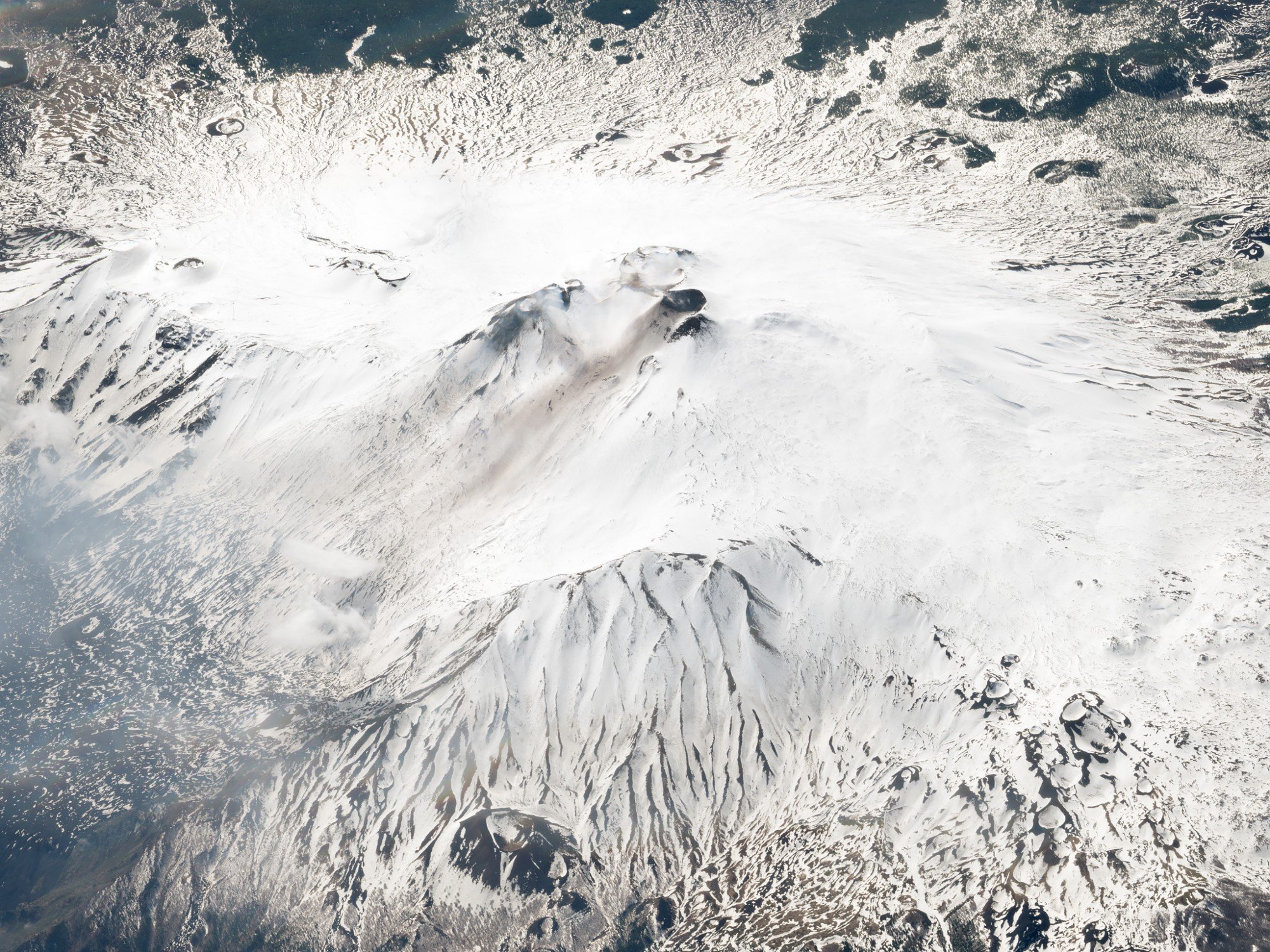 Mount Etna, Italy. March 10, 2018. Image ©2018 Planet Labs, Inc. cc-by-sa4.0.