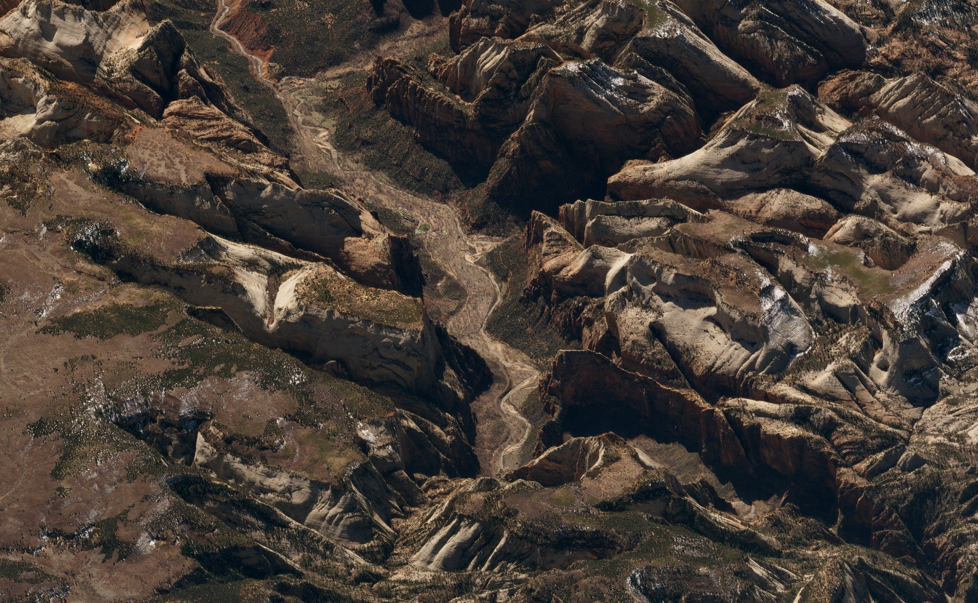 Zion National Park. United States. March 21, 2018. Image ©2018 Planet Labs, Inc. cc-by-sa4.0.