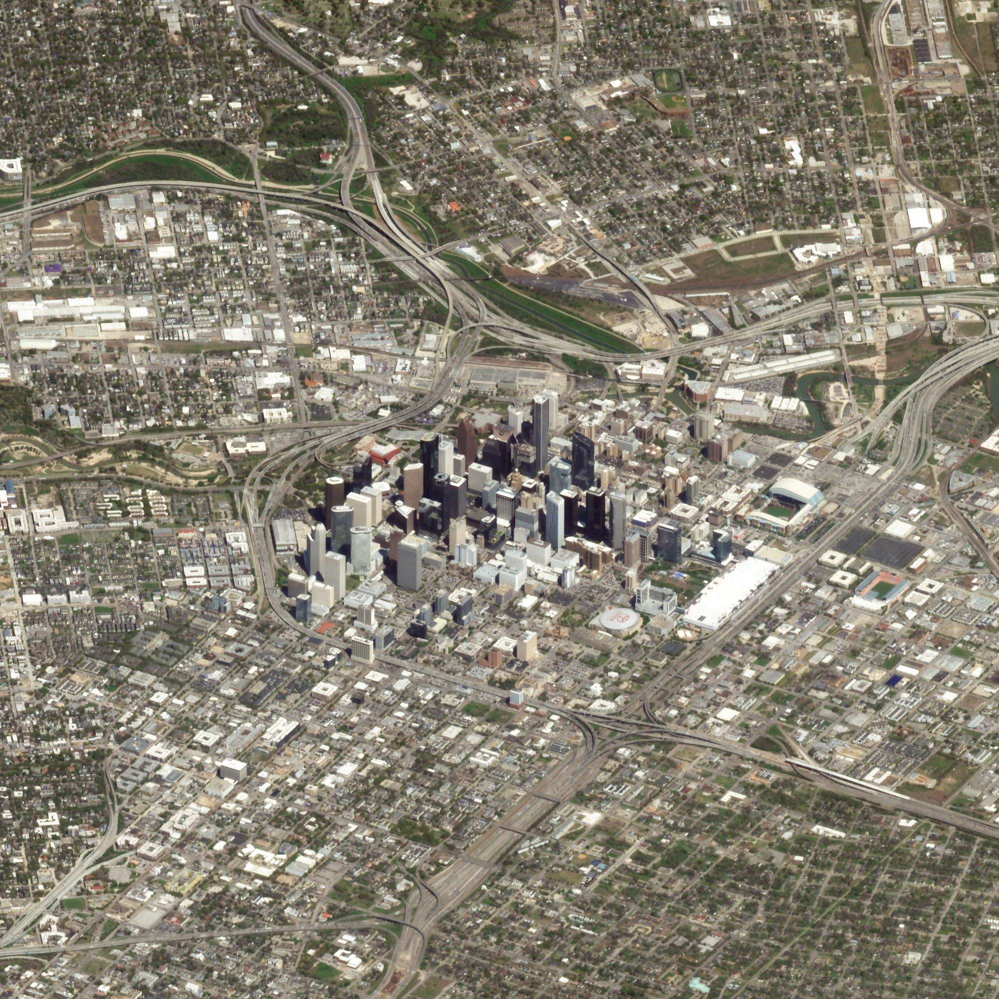 Houston, Texas. March 14, 2018. Image ©2018 Planet Labs, Inc. cc-by-sa4.0.