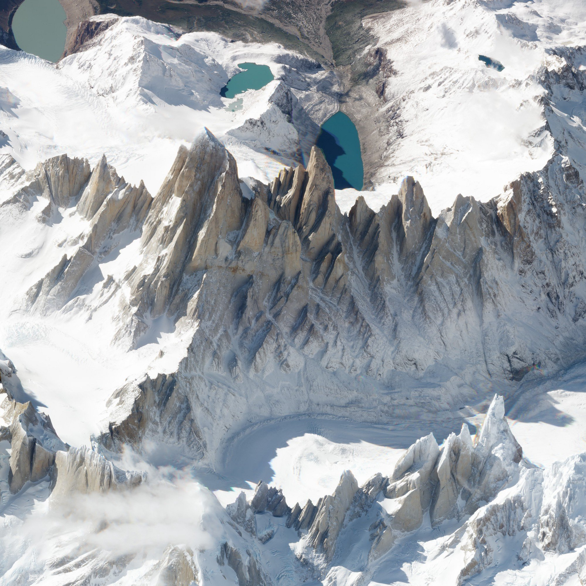 Oblique view of Monte Fitz Roy. March 19, 2018. SkySat. Image ©2018 Planet Labs, Inc. cc-by-sa4.0.