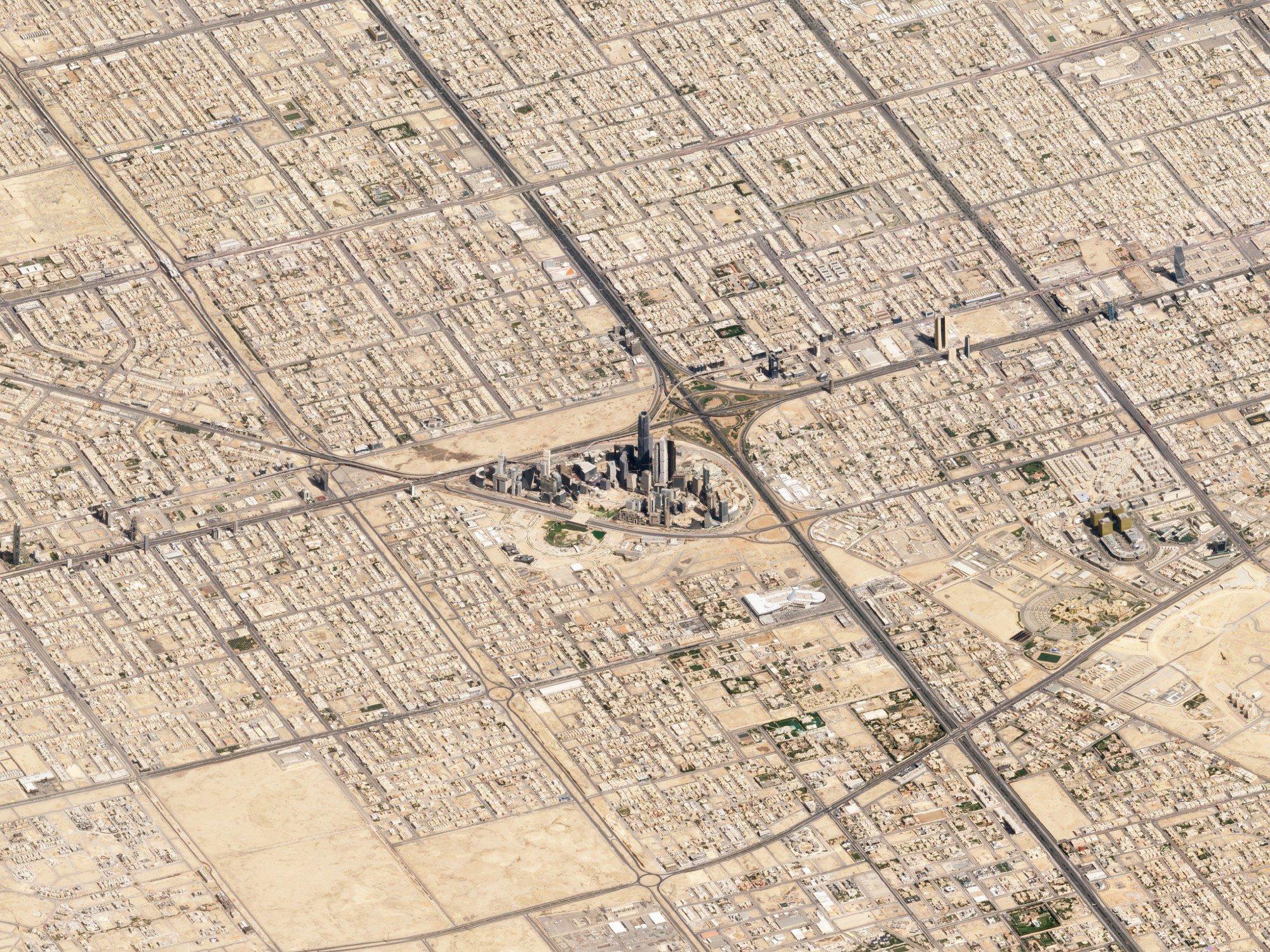 Riyadh, Saudi Arabia. March 10, 2018. Image ©2018 Planet Labs, Inc. cc-by-sa4.0.