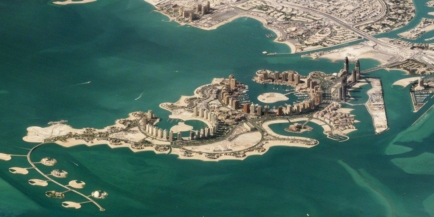 Doha, Qatar. November 11, 2017. Image ©2018 Planet Labs, Inc. cc-by-sa4.0.