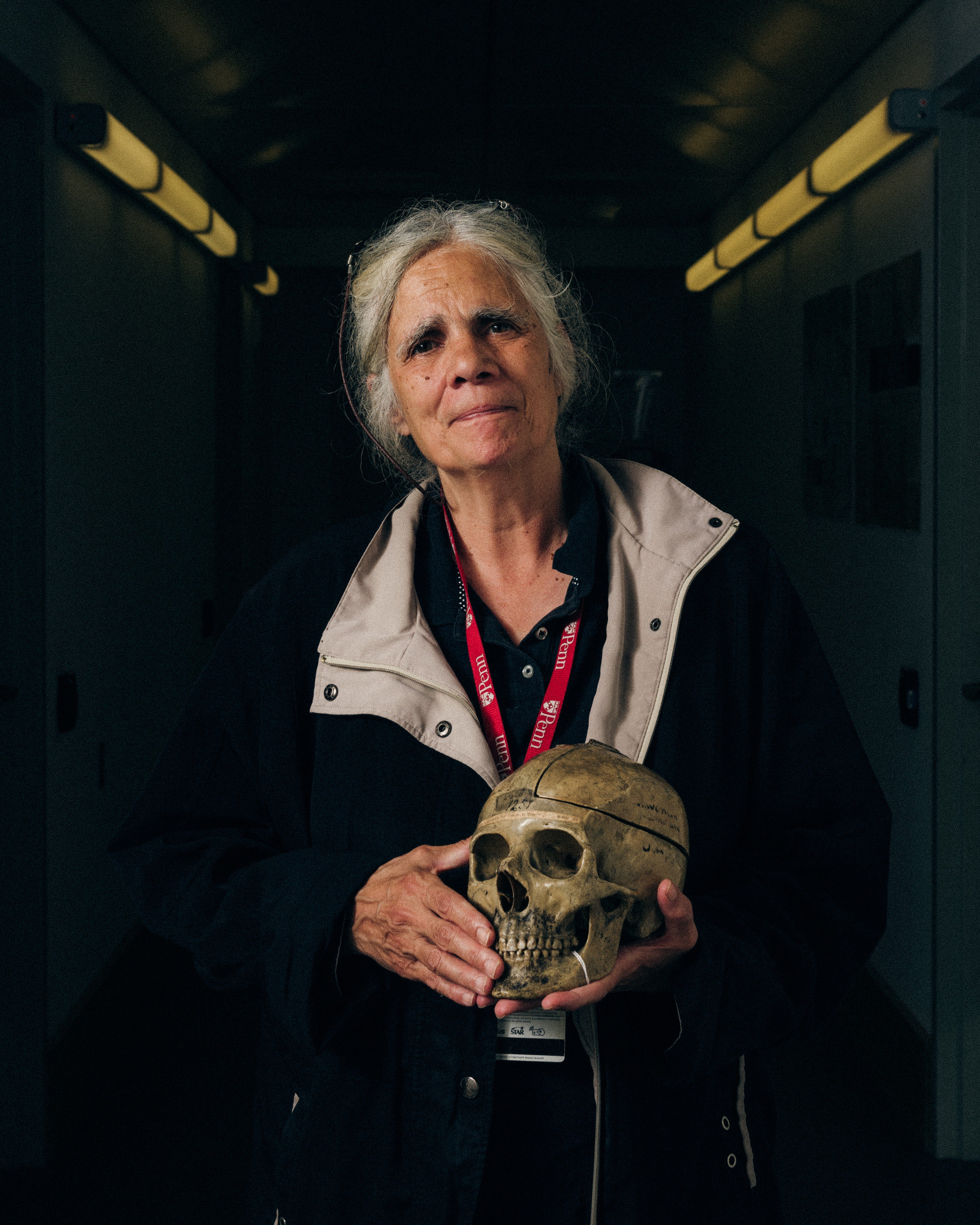 Janet Monge, the Keeper of Collections, Physical Anthropology Section at the Penn Museum. Photo by Jonah Rosenberg
