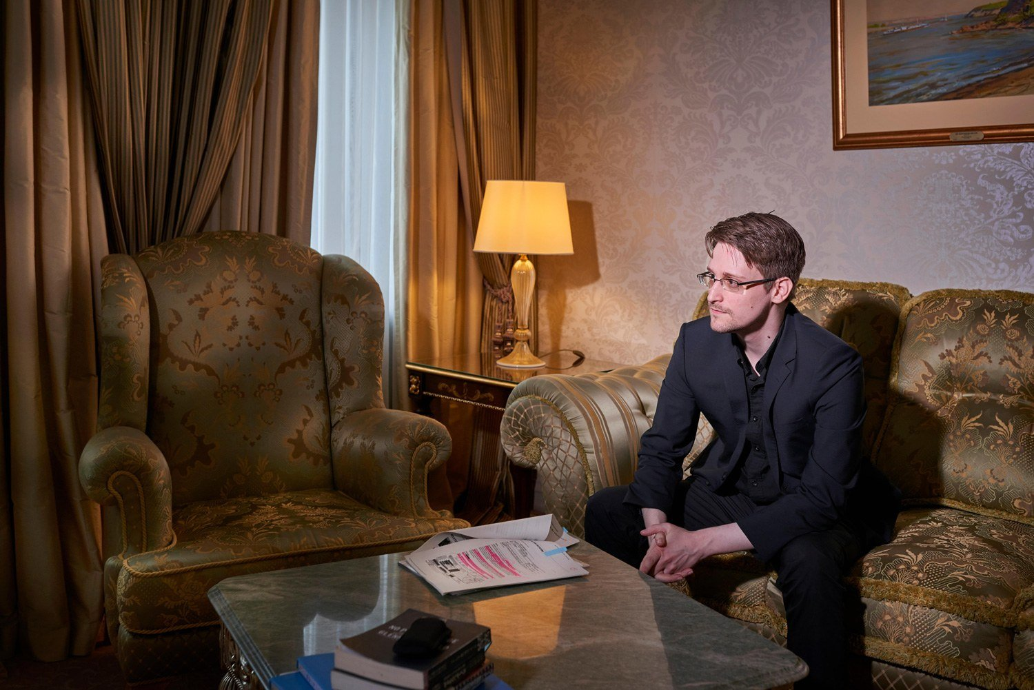 After 6 Years in Exile, Edward Snowden Explains Himself