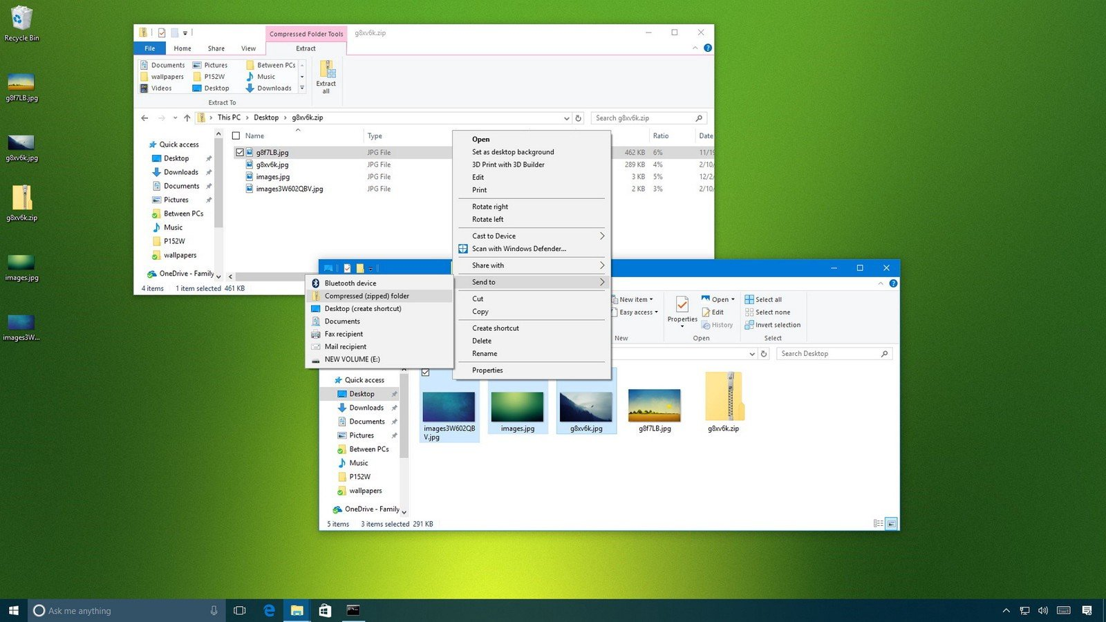 Windows 10. You can still play with files, even though I feel sometimes like it looks down on me when I do.