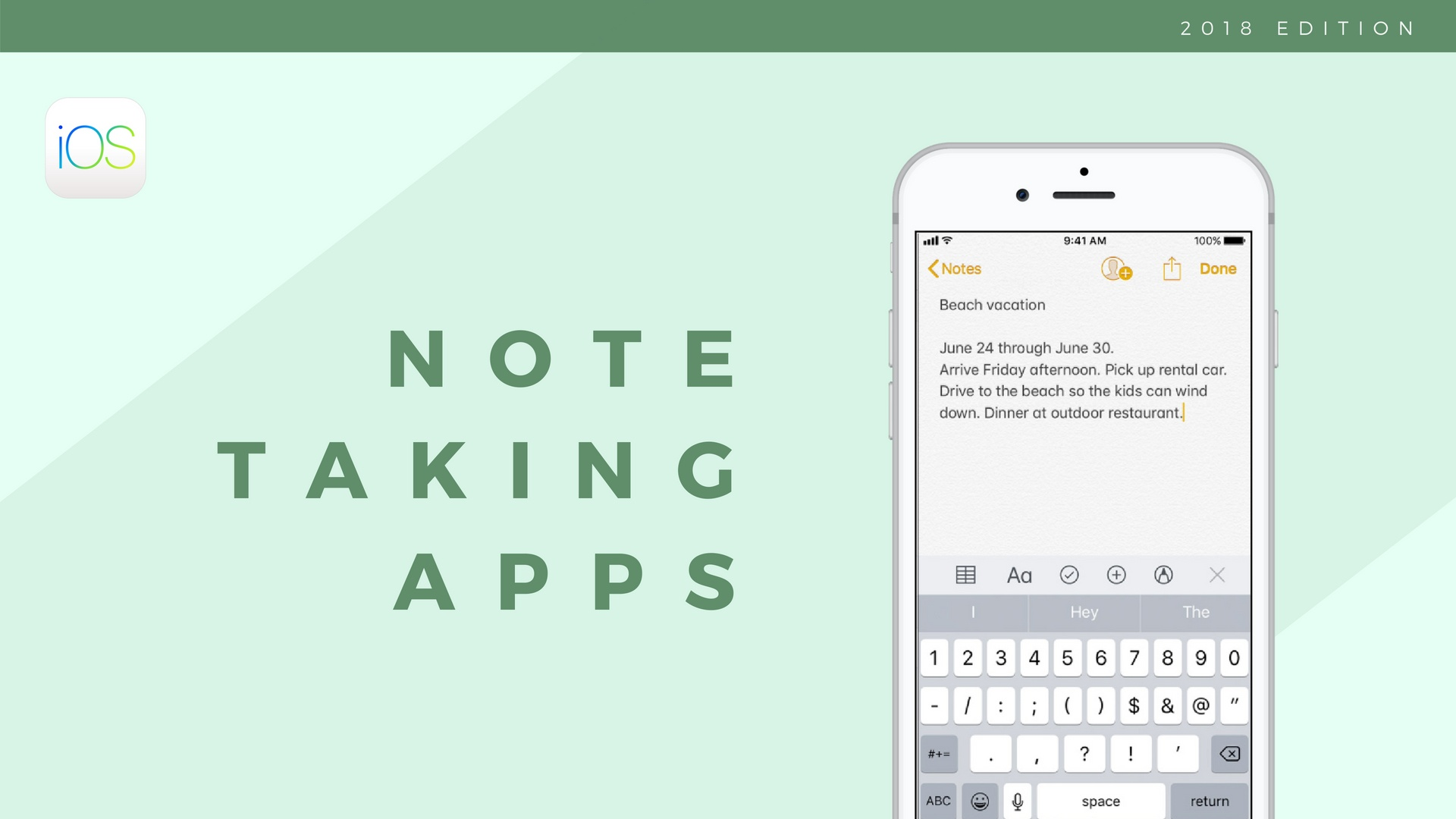 Best note-taking apps of 2019: take notes on the go with a mobile app
