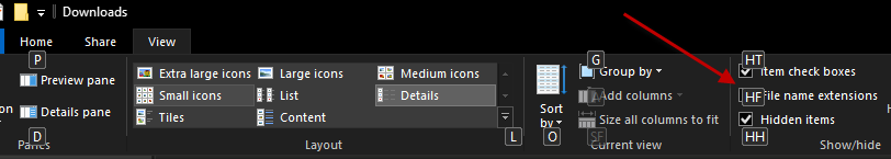 Windows 10 ribbon bar allows thousands of KeyTips that will save you tons of time.