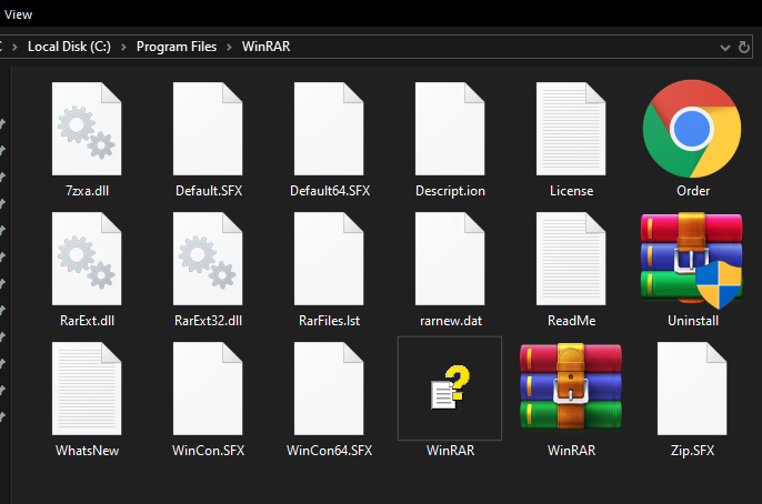 Large icons doesn't show any file/folder details except the name