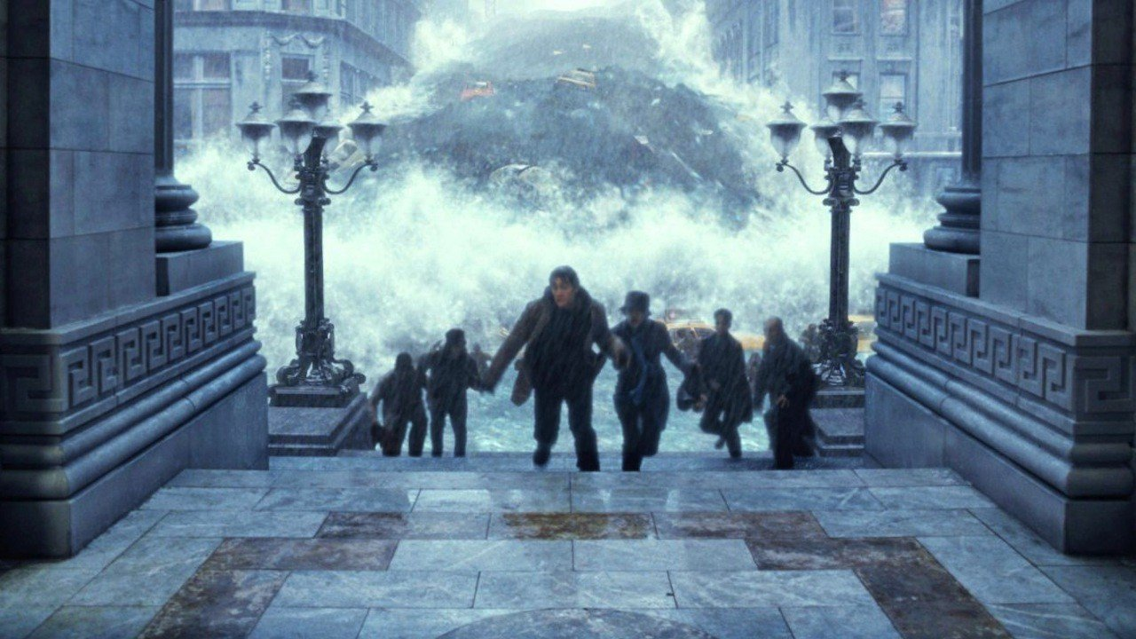 A scene of flooding from The Day After Tomorrow. Source: 20th Century Fox