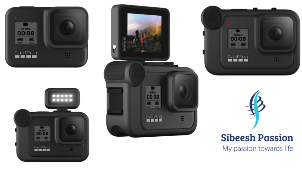 GoPro Hero 8 Black With All Accessories